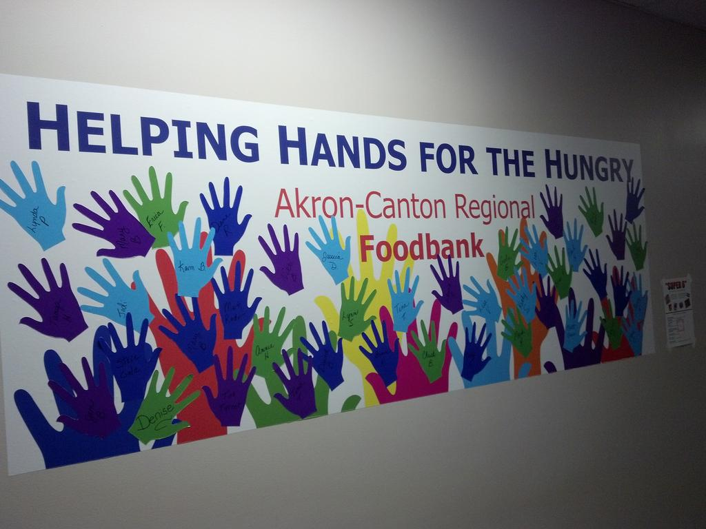 Canton, Ohio-based copier and printer dealer supports Akron Canton Food Bank