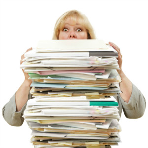 digitize files and prevent being buried by paper files